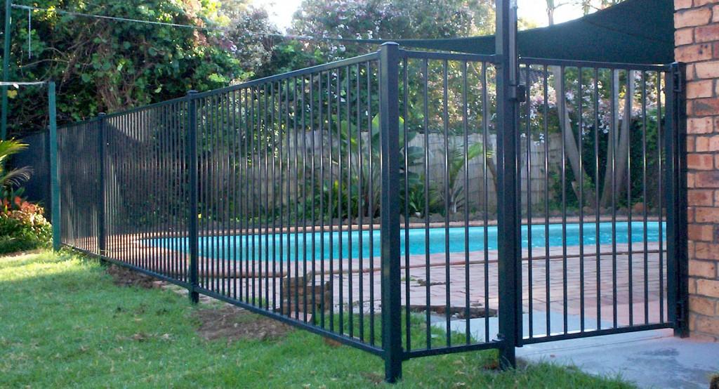 All Hills Fencing Attractive Tubular Pool Fencingall